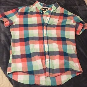 Short Sleeve Tommy Hilfiger Button Down